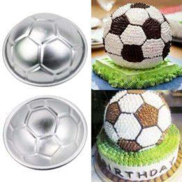3d soccer ball cake pan online in pakistan