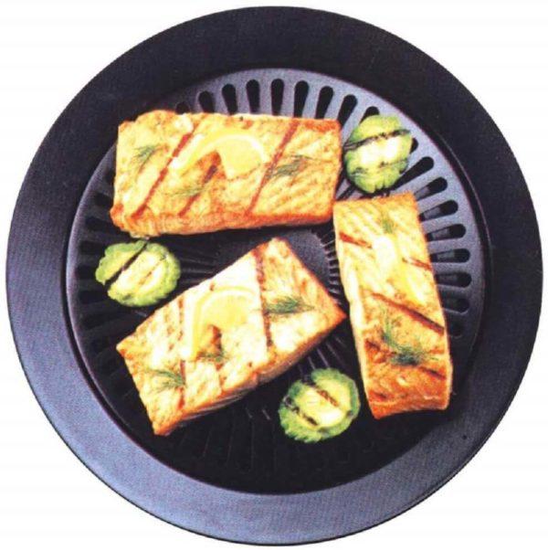 fish on smokeless stove top cookingorbit