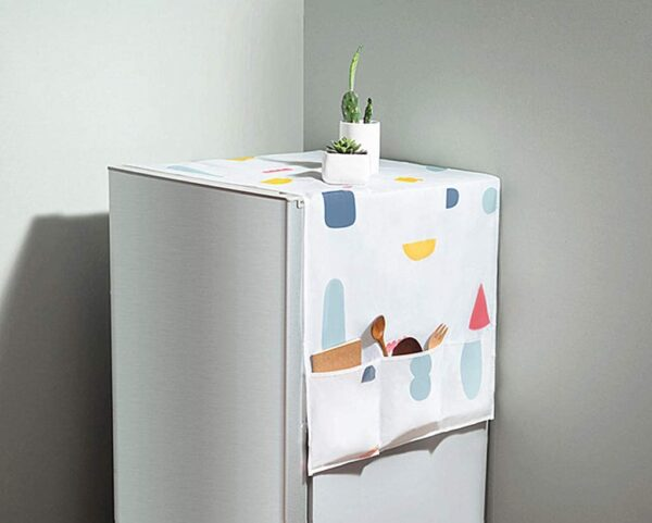 fridge cover with pockets on both sides online in pakistan cookingorbit.pk refrigerator cover cookingorbit.pk