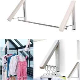 wall mountable hidden type clothes hanger in pakistan