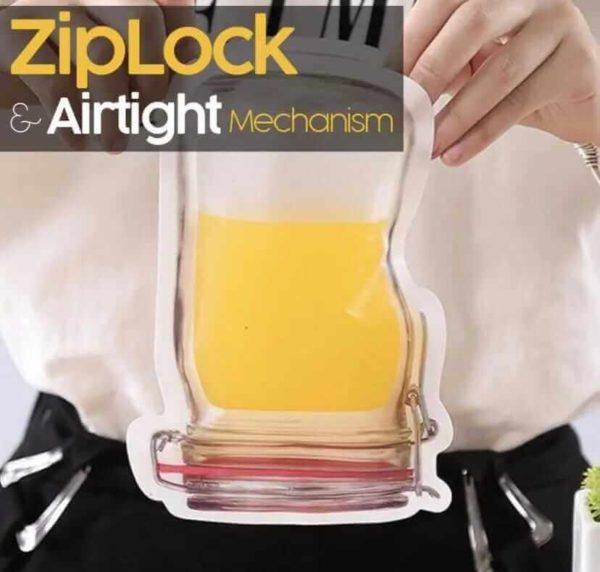 mason jar reusable zip bags cookingorbit.pk