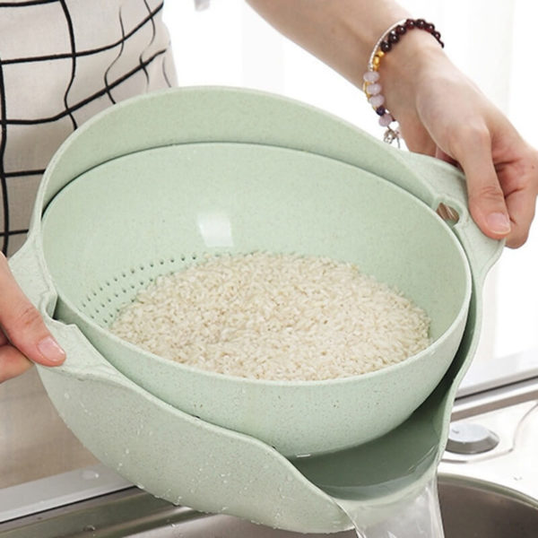Double Drain Basket for rice in pakistan