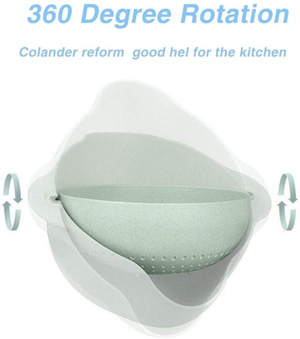 Plastic Kitchen Colander Strainer BasketPlastic Kitchen Colander Strainer Basket