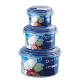 best round plastic food storage containers with pack of 3 cookingorbit.pk
