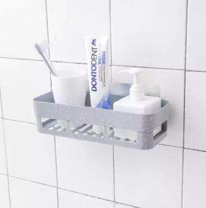 Plastic Inter Design Bathroom Kitchen Organize Shelf