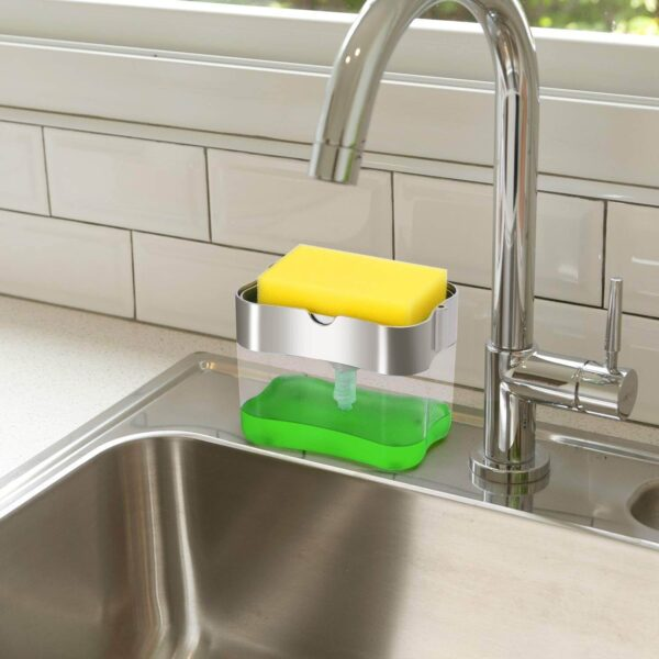 Original Soap Dispenser for Kitchen & Sponge