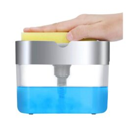 2 in 1 Soap Pump with Sponge Caddy