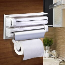 3 in 1 Kitchen Dispenser Paper Foil Cling Wrap in pakistan