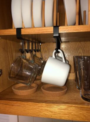 mug holder with 6 hooks review
