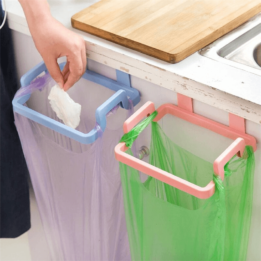 Kitchen Trash Bag Towel Holder Rack Cabinet Organizer