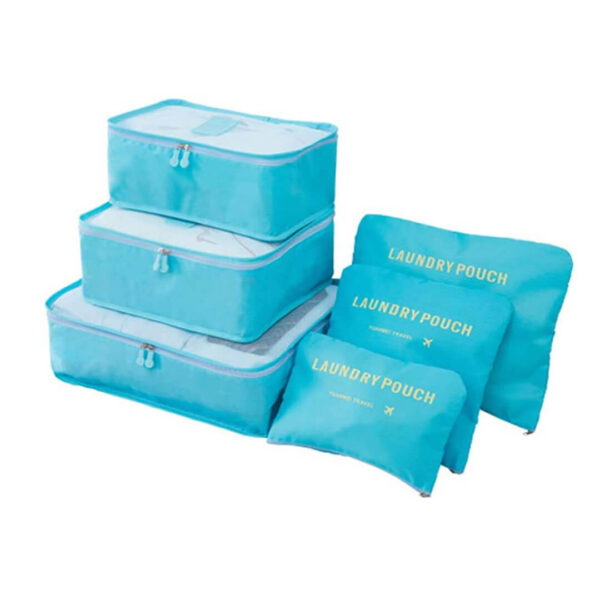 travel clothes storage bags set of 6 in pakistan