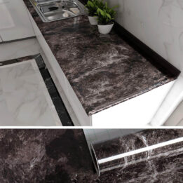 waterproof marble wallpaper for kitchen