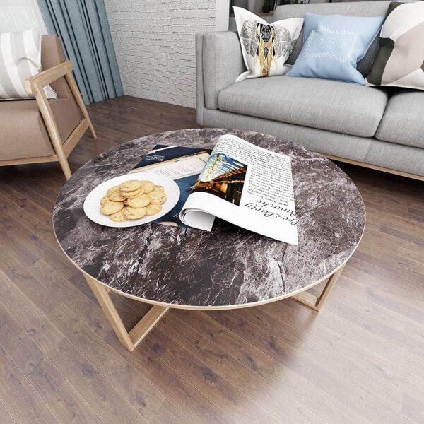Tile Vinyl Flooring Stickers for Livingroom