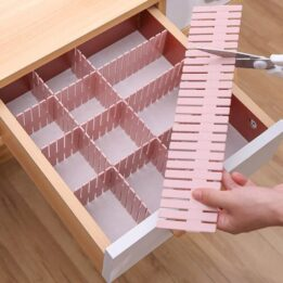 Adjustable Plastic Drawer Divider in pakistan