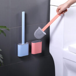 flexible silicone toilet brush cookingorbit pk