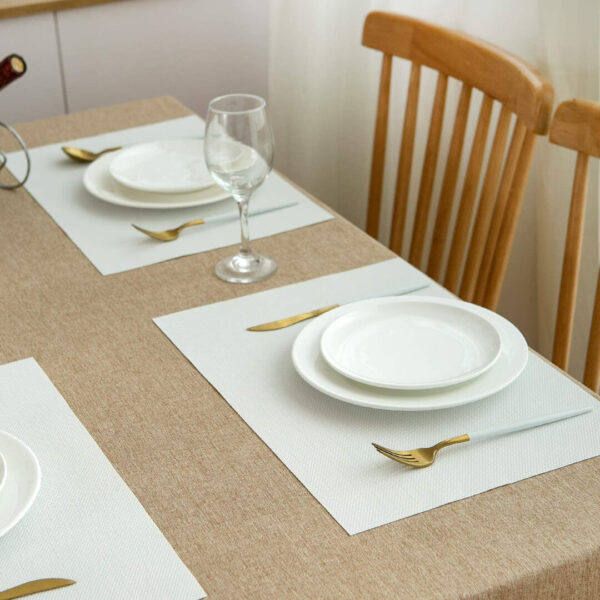 best dining table mats in white color price in pakistan