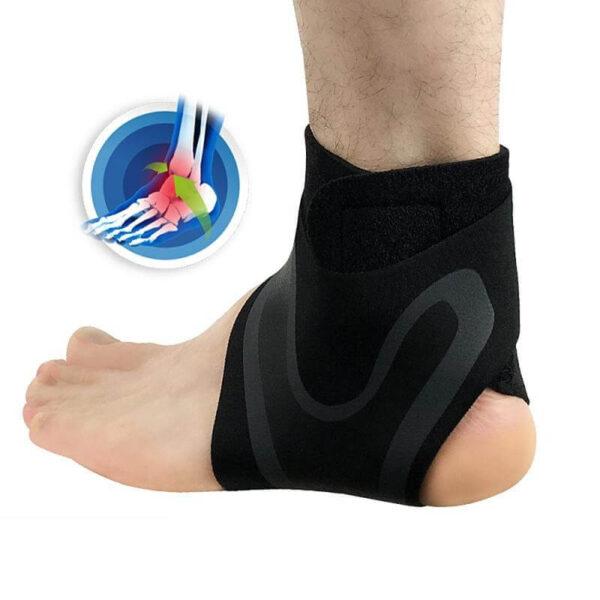 elasticity brace heel pain relief