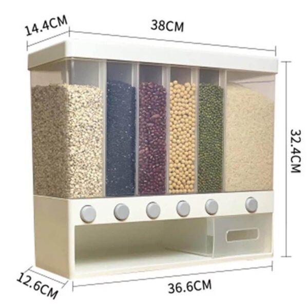 plastic sealed rice bucket storage box