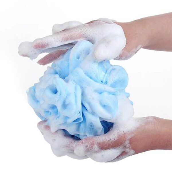 mesh bath shower body washing