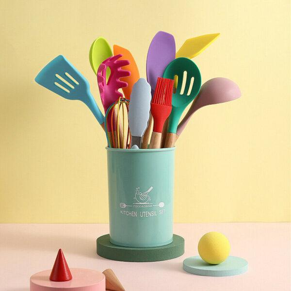 non-stick spatula spoon tool set