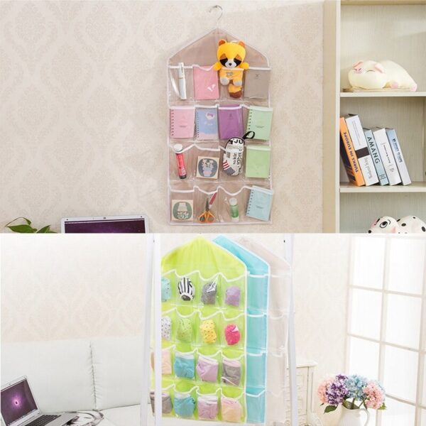 Multi-Functional 16 Pockets Hanging Organizers