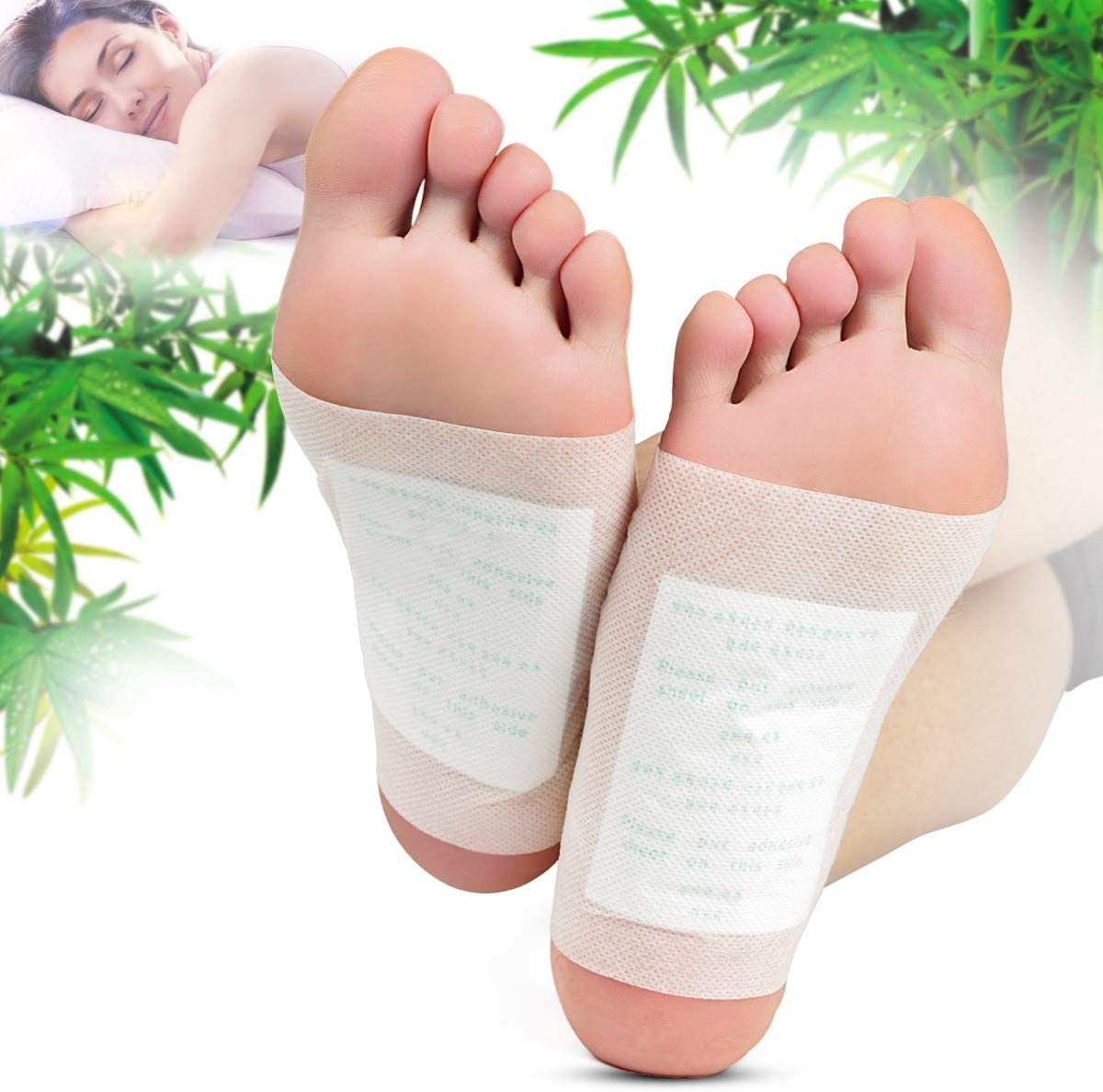 Relief Foot Pads, Adhesive Sheets for Removing Impurities CookingOrbit