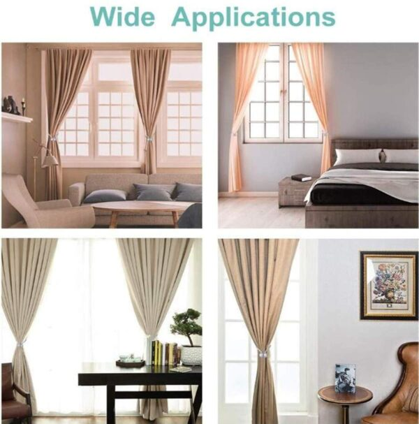 Decorative Weave Rope Curtain Rings