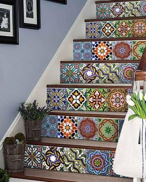 Peel and Stick Tile Backsplash Stair CookingOrbit.pk