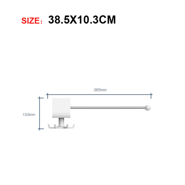 Size of Wall Mounted paper holder