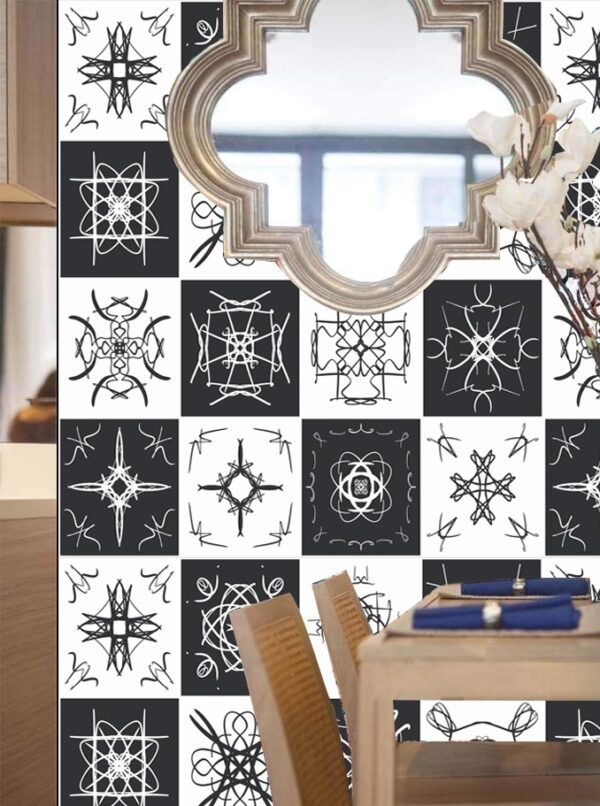 Self Adhesive Textured Tile Stickers Online in Pakistan