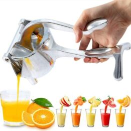 Lemon Orange Juicer, Simple Fruit Press Squeezer