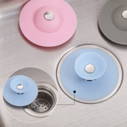 Rubber Circle Silicone Sink Strainer Filter CookingOrbit.pk