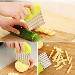 Stainless Steel Potato Chip Slicer CookingOrbit.pk