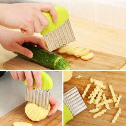 Stainless Steel Potato Chip Slicer CookingOrbit.pk