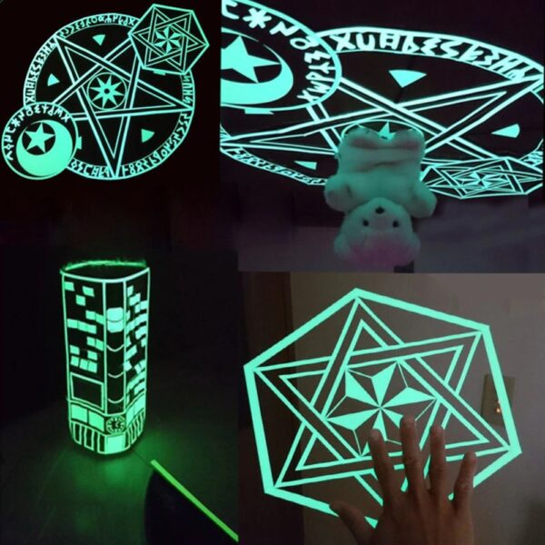 self-adhesive glow in the dark adhesive safety