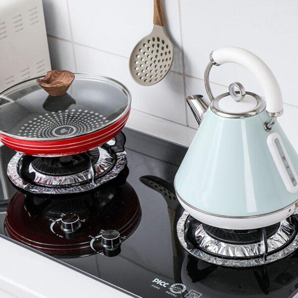 Aluminum Foil stove Protector Pad cookingorbit.pk
