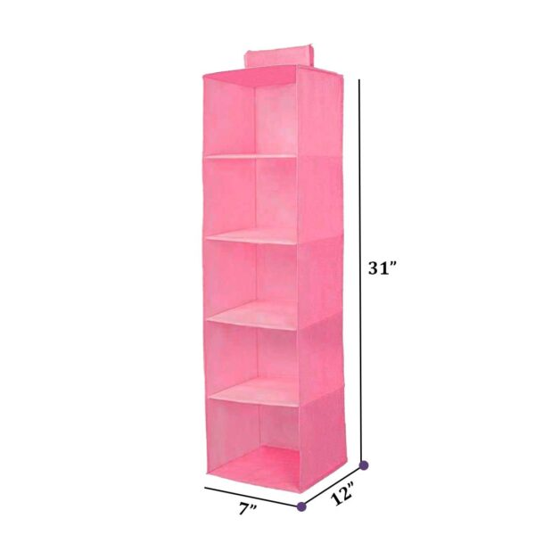 Size of hanging clothes storage bag