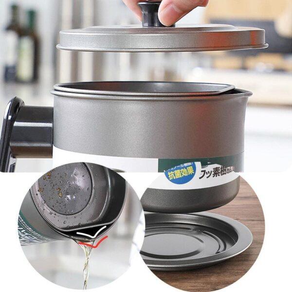stainless steel oil filter pot
