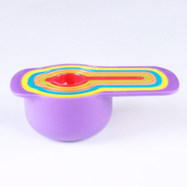 6 pcs set Multifunctional Rainbow colored