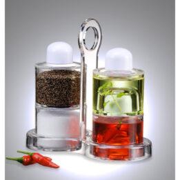Stack Condiment Dispenser Set