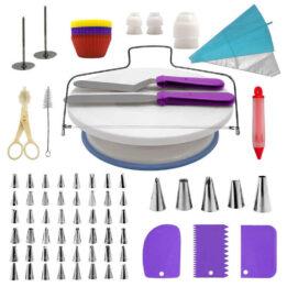 73 pcs cake decorating supplies kit set