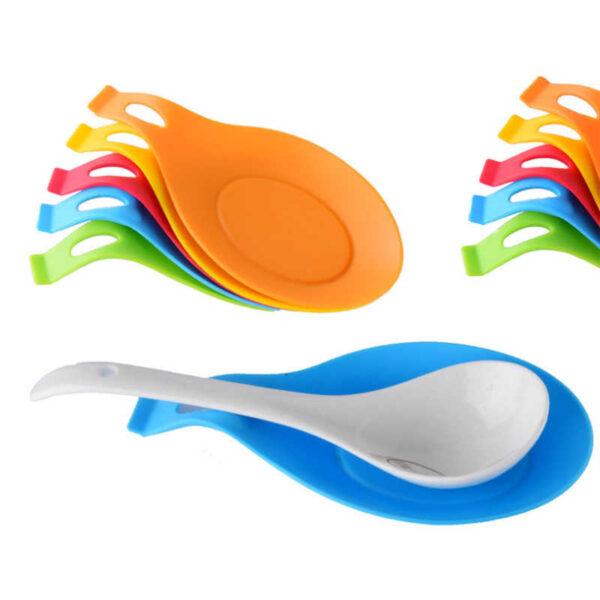 silicone spoon rester multicolor pakistan