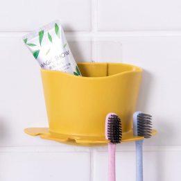 plastic toothbrush holder wall mount