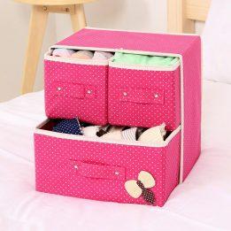 foldable storage drawer organizer