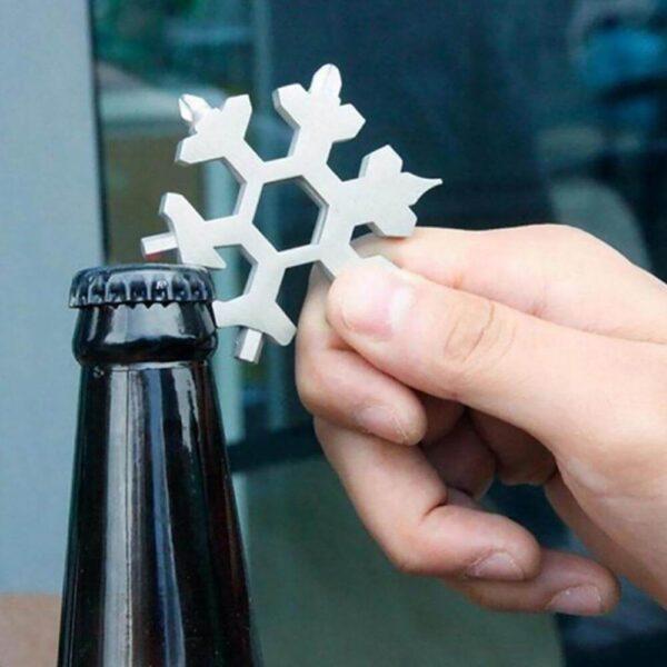 amenitee 18-in-1 snowflakes multi-tool