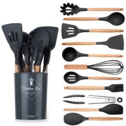 best silicone kitchen utensil set cookingorbit.pk