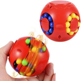 magic bean cube toy spinner puzzle solution
