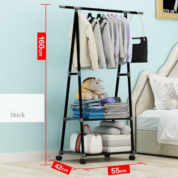 Size of Clothing Hanger Stand