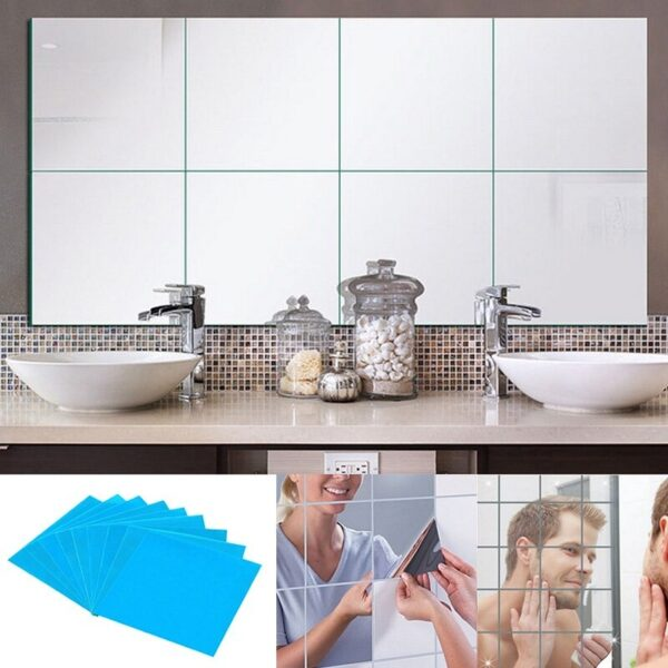 peel and stick mirror sheets