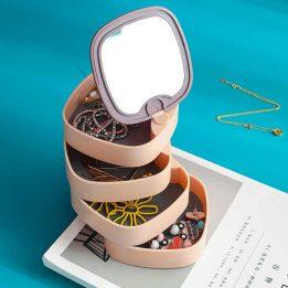 rotatable jewelry box organizer pakistan